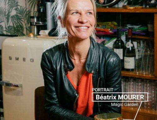 LE PORTRAIT DE LA SEMAINE : BÉATRIX MOURER (MAGIC GARDEN)